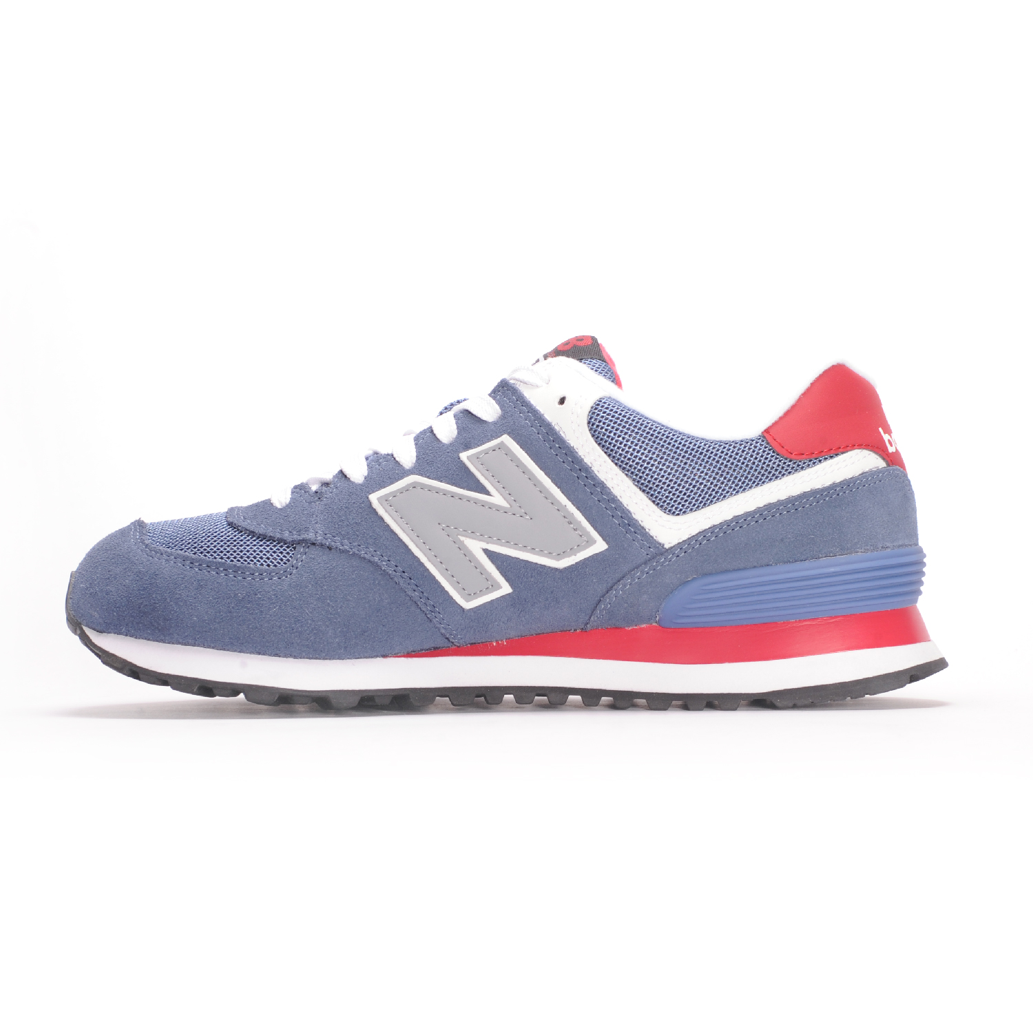 new balance 574 crater with red and light grey