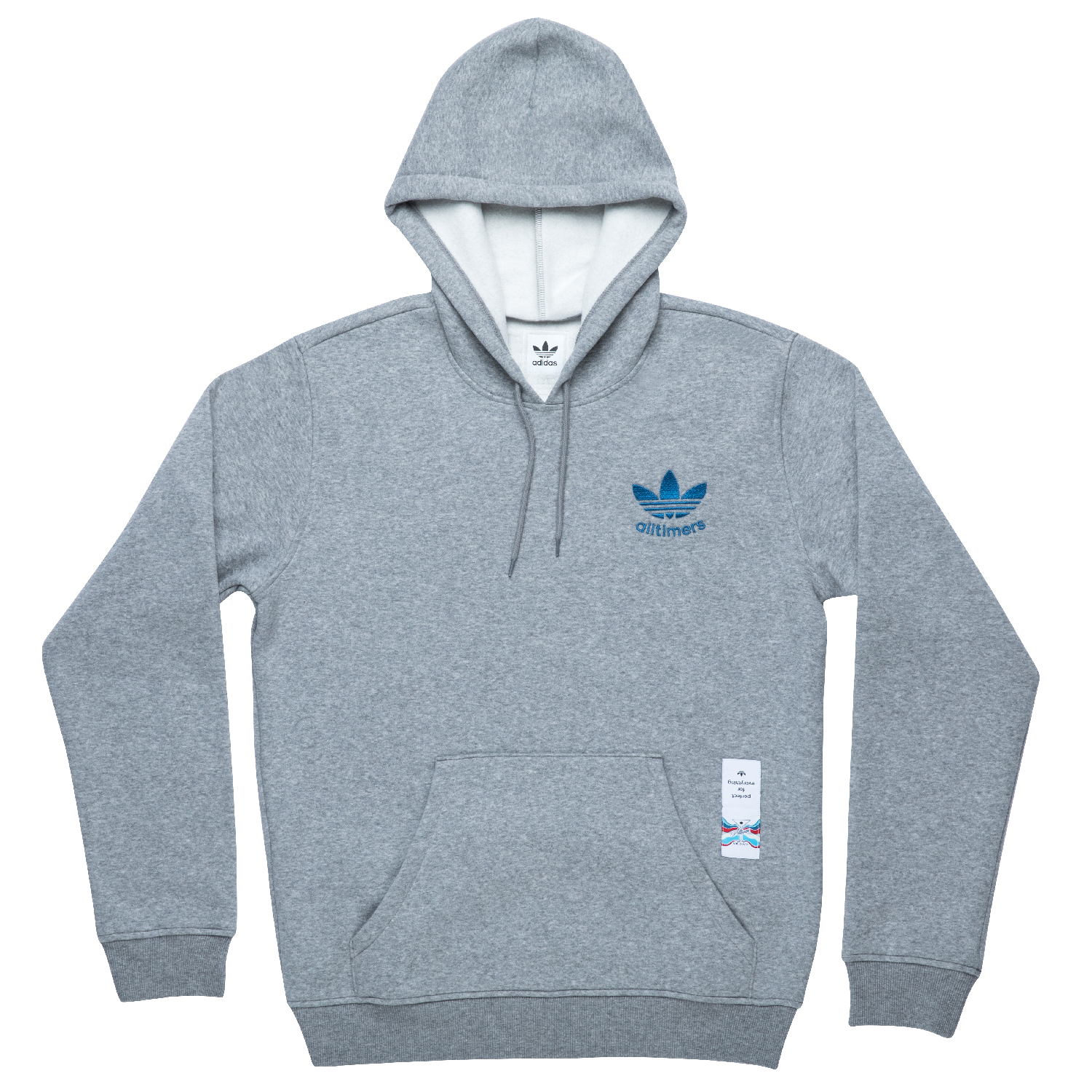 adidas alltimers core heather pullover hoodie. Black Bedroom Furniture Sets. Home Design Ideas