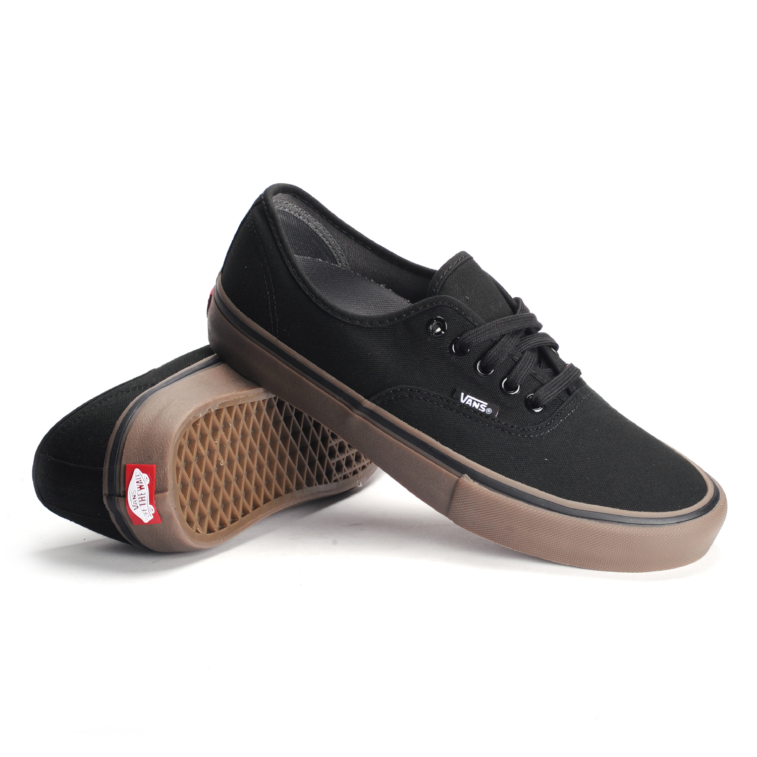vans shoes black and brown