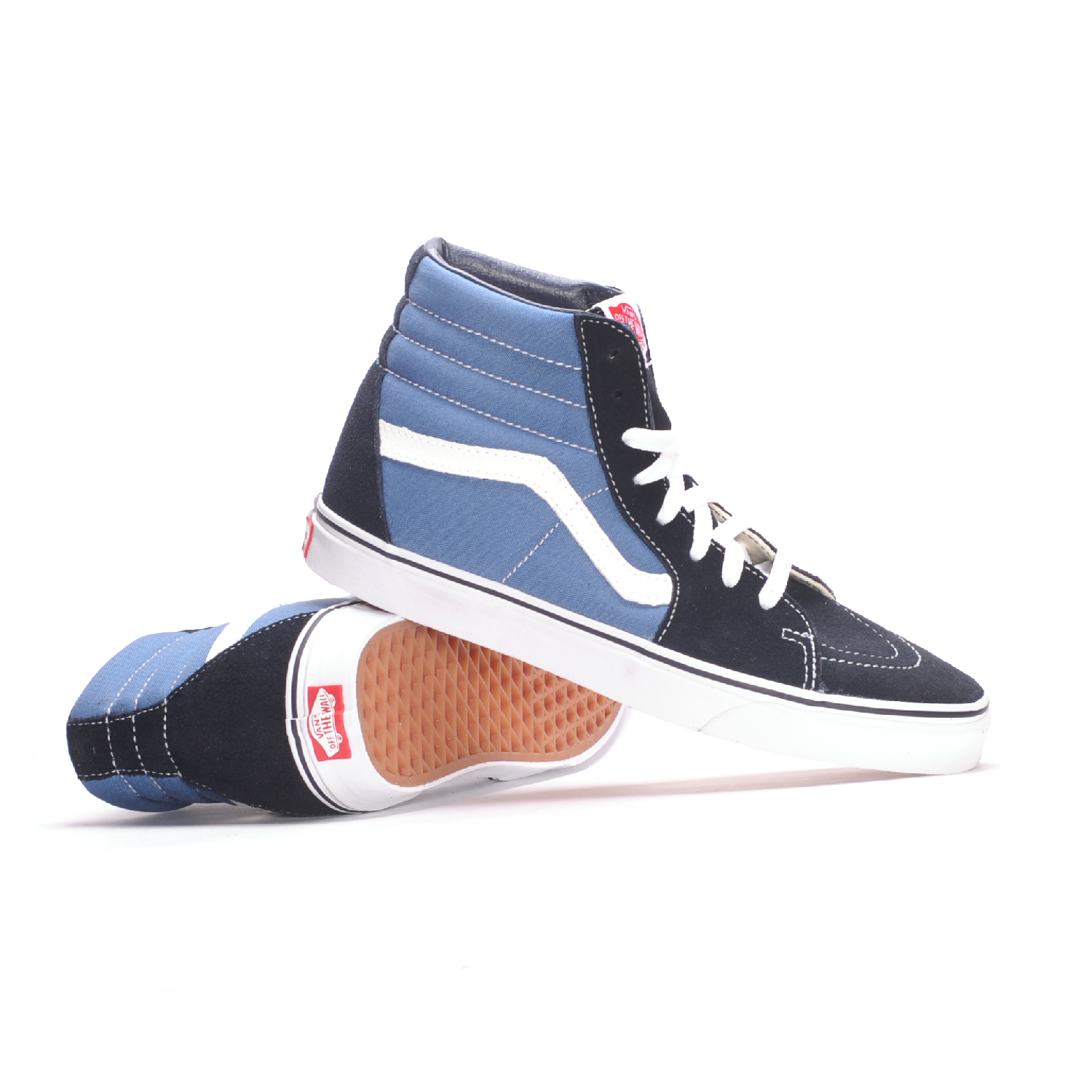 7ed3252048d3 Vans Sk8-Hi (Navy) Men s Skate Shoes