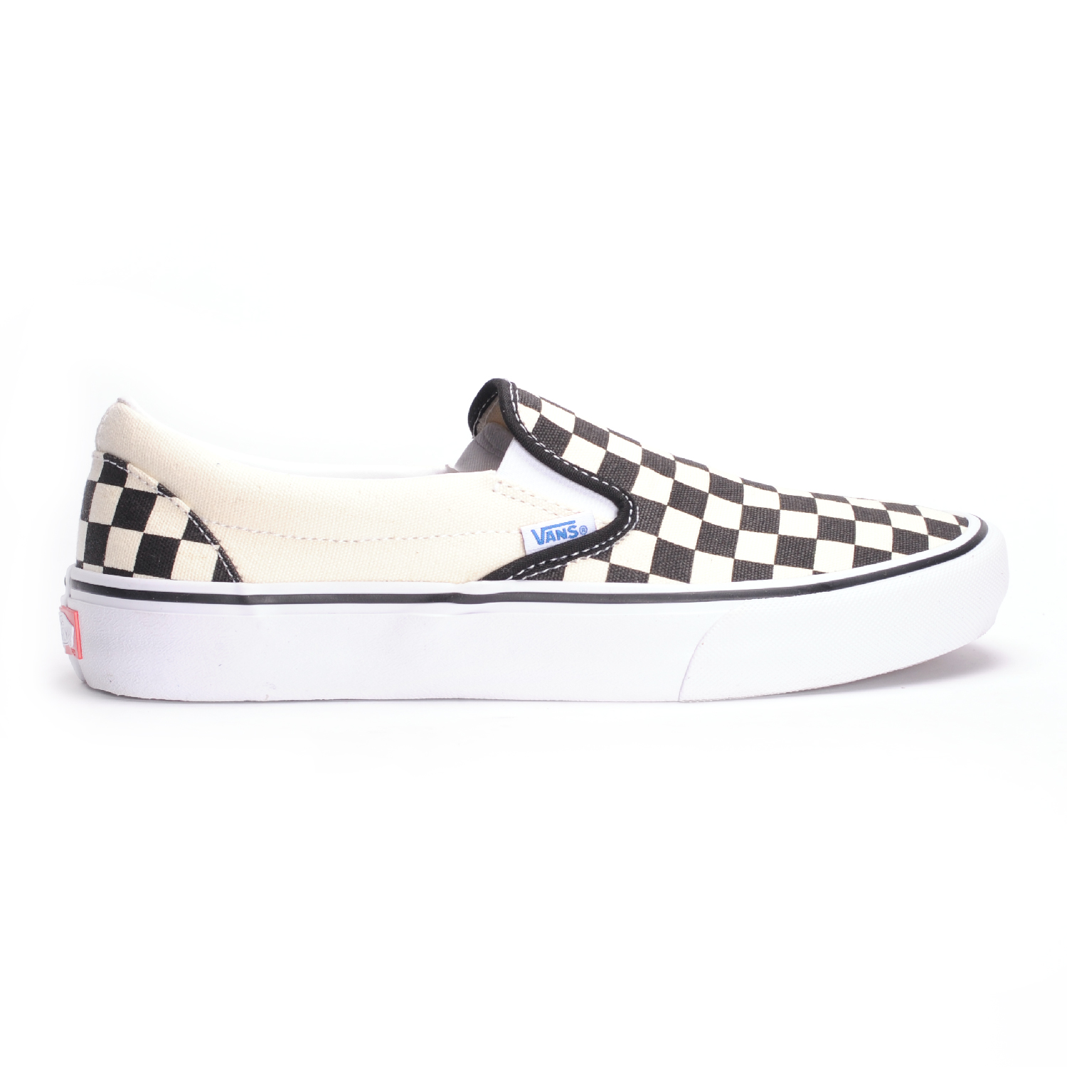 1a8411946f2 Vans Slip-On Pro (Checkerboard Black White) Men s Skate Shoes