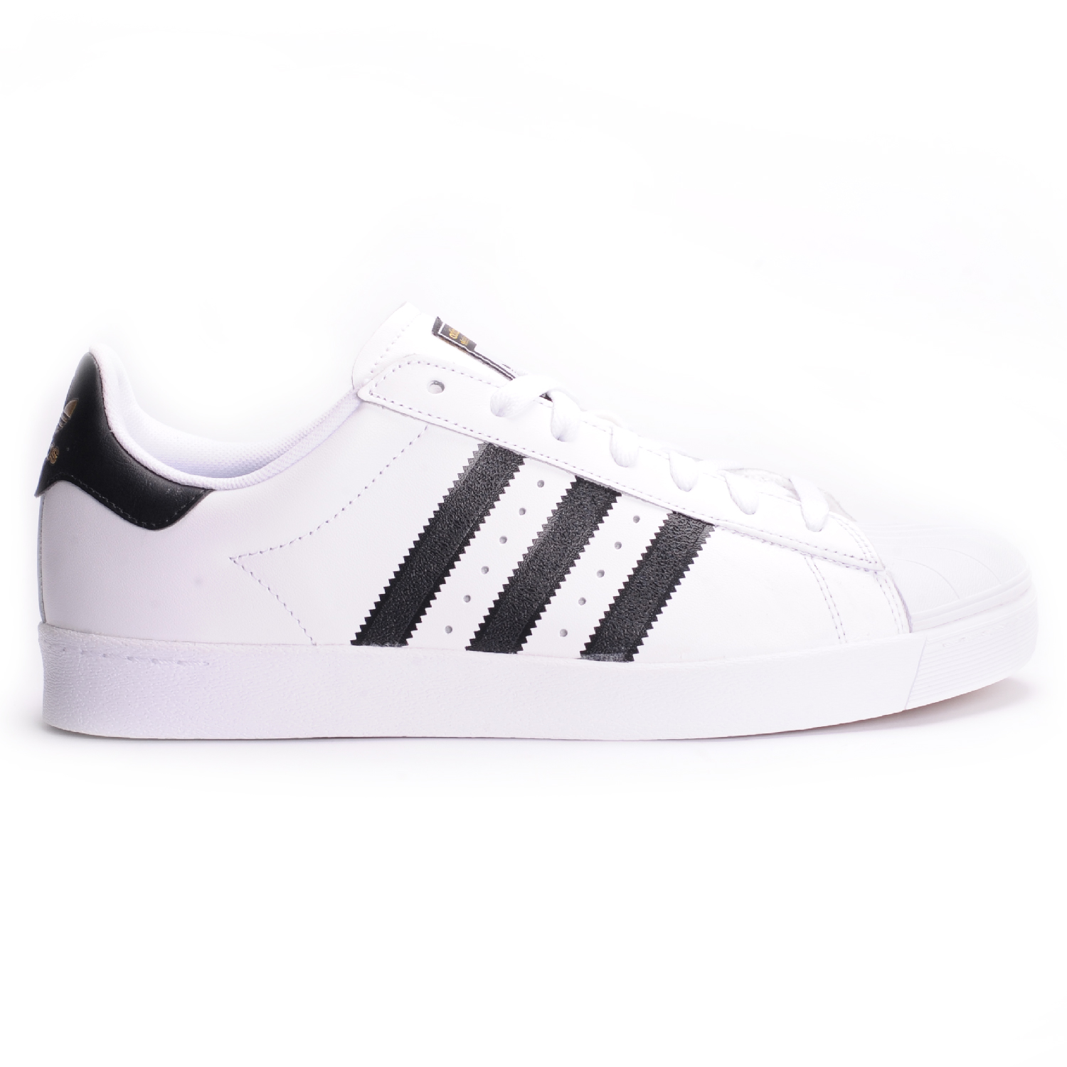 Cheap Adidas Superstar Vulc Adv Black White Hers trainers Office