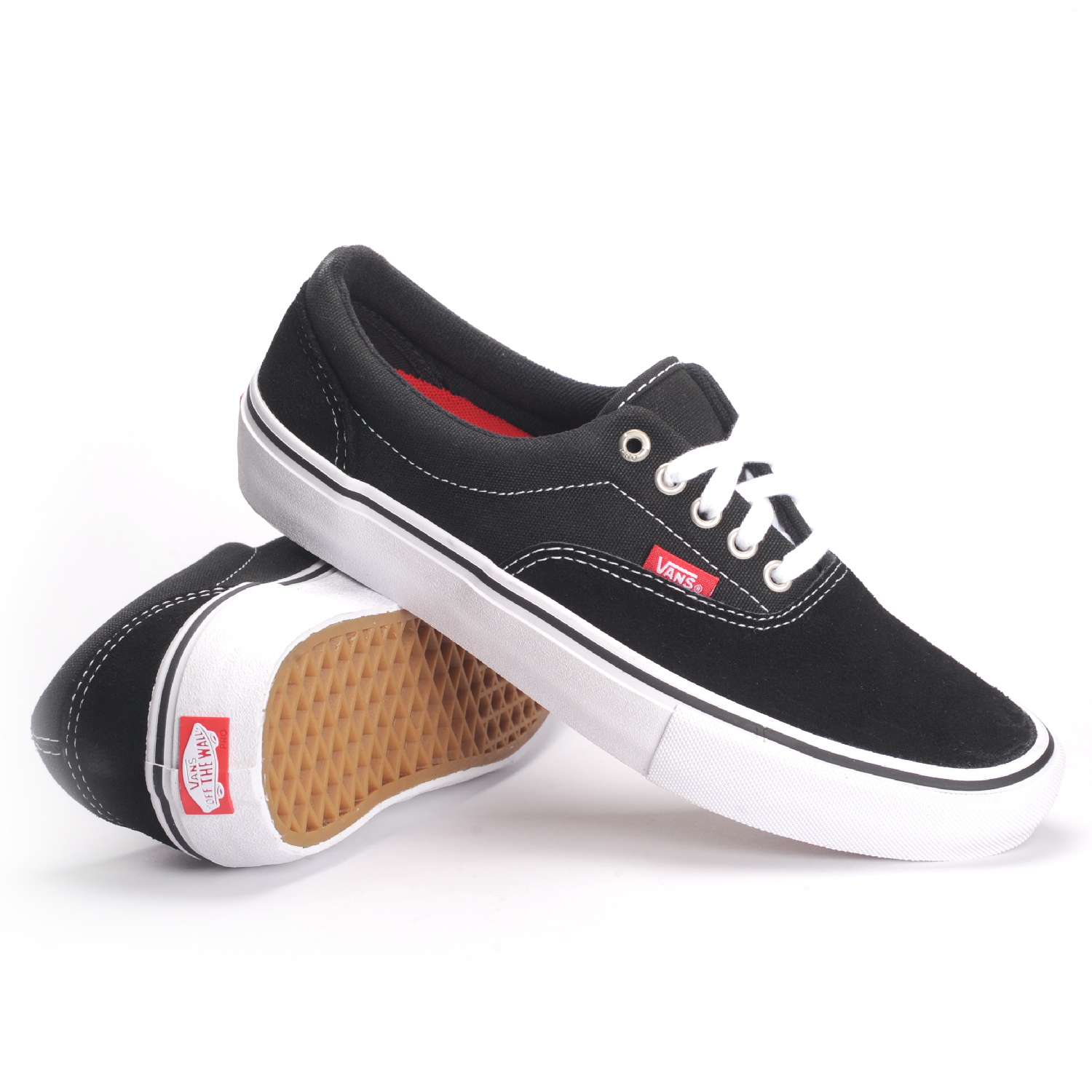 Vans Era Pro (Black White Gum) Men s Skate Shoes 4b200abd0