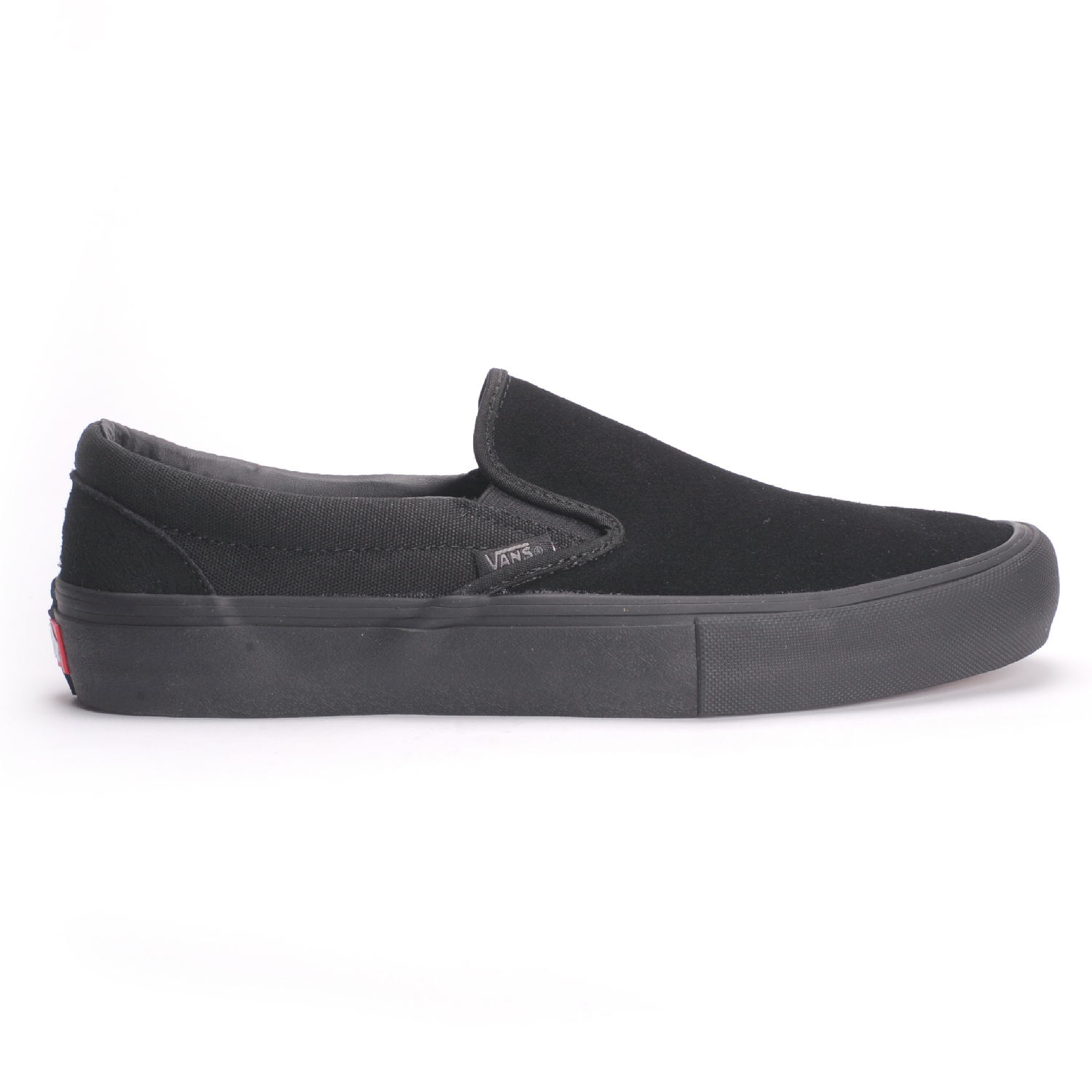 e01d4514edee67 Vans Slip-On Pro (Blackout) Men s Skate Shoes