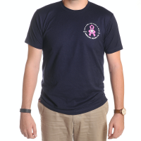 ABC Breast Cancer Navy Tee