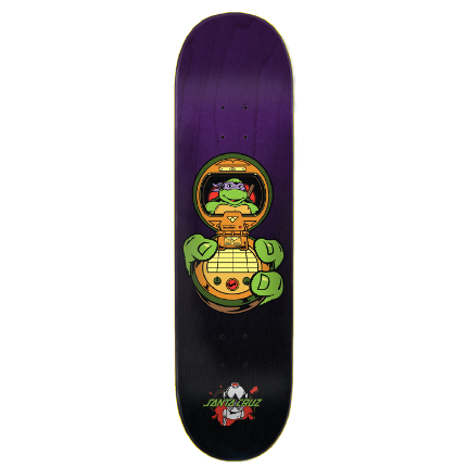 Santa Cruz x TMNT Donatello Deck 8.125
