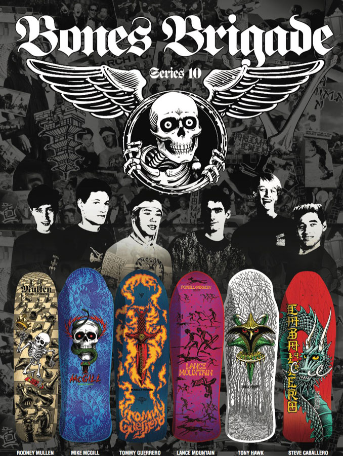 Powell-Peralta Bones Brigade Series 10 Skateboard Collection Giveaway