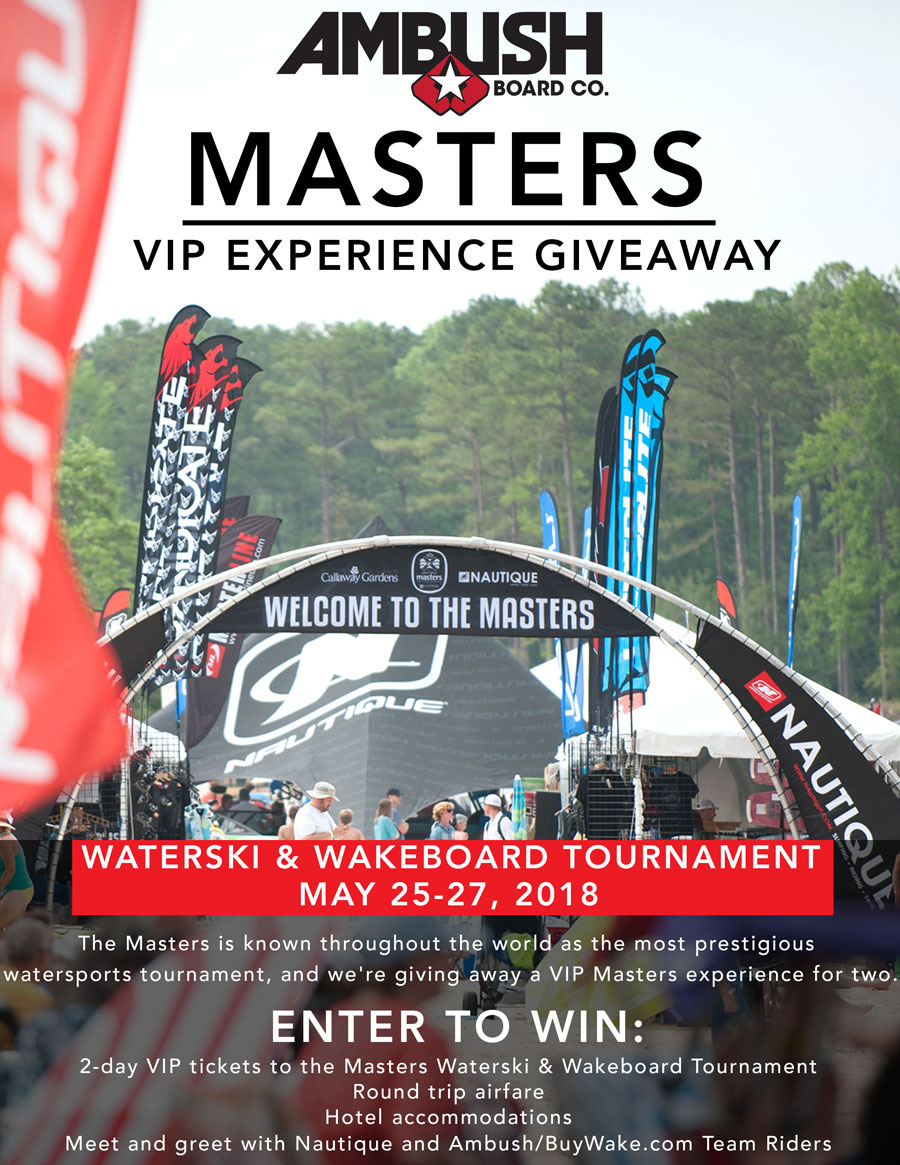 Masters VIP Experience Giveaway