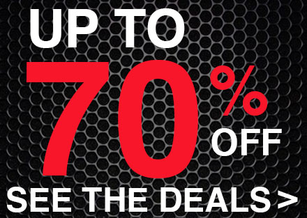 Save up to 70% on Everything You Need to Ride
