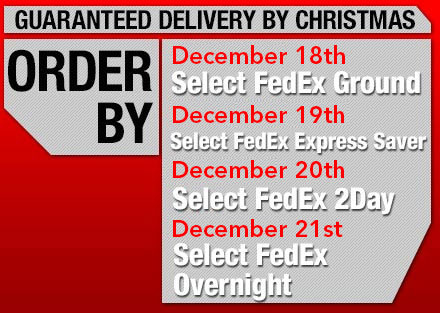 Guaranteed Delivery by Christmas