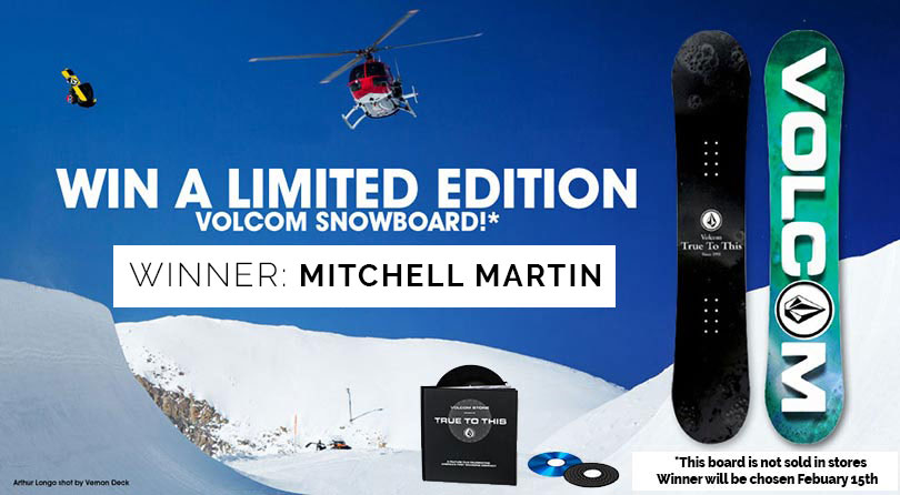 Volcom x Capita True to This Snowboard Giveaway!
