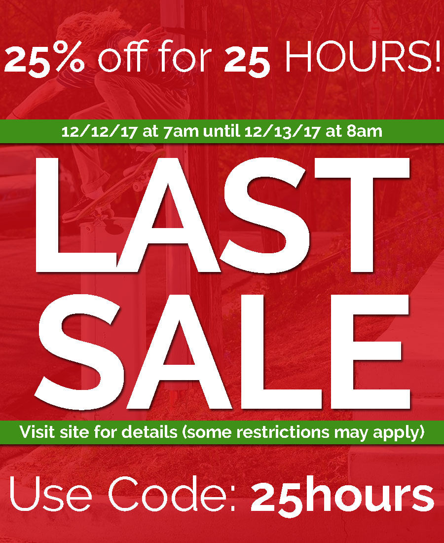 Final Holiday Sale. 25% OFF! Act fast!