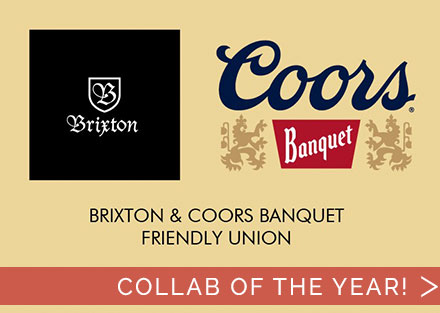 New Brixtion x Coors Collection is here!
