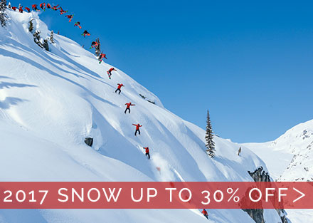 Shop 2017 Discounted Snow Gear!