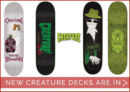 New! Creature Skateboards!