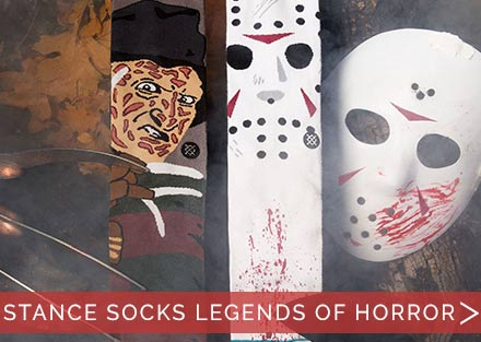 New Stance Legends of Horror Socks!