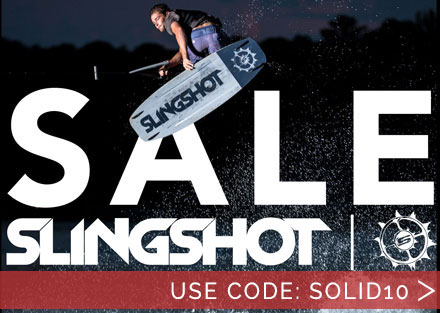 Slingshot Wake Sale | Use Code: solid10