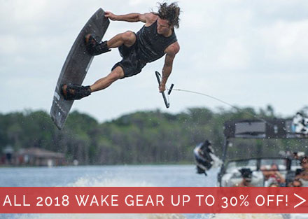 Shop All 2018 Discounted Wake Gear