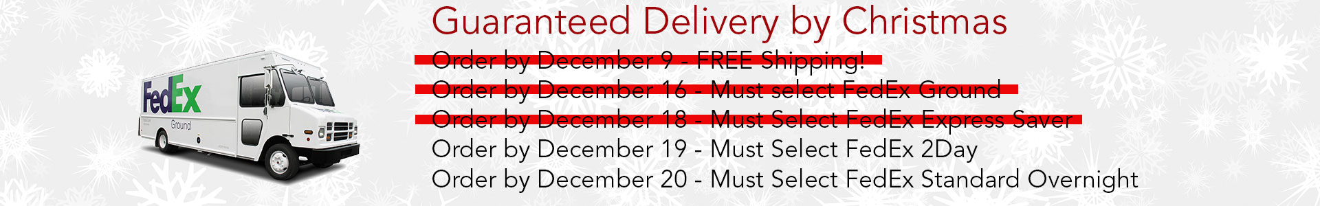 Guaranteed Delivery by Christmas | Trust Ambush Board Co.
