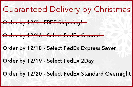 Christmas Shipping Dates