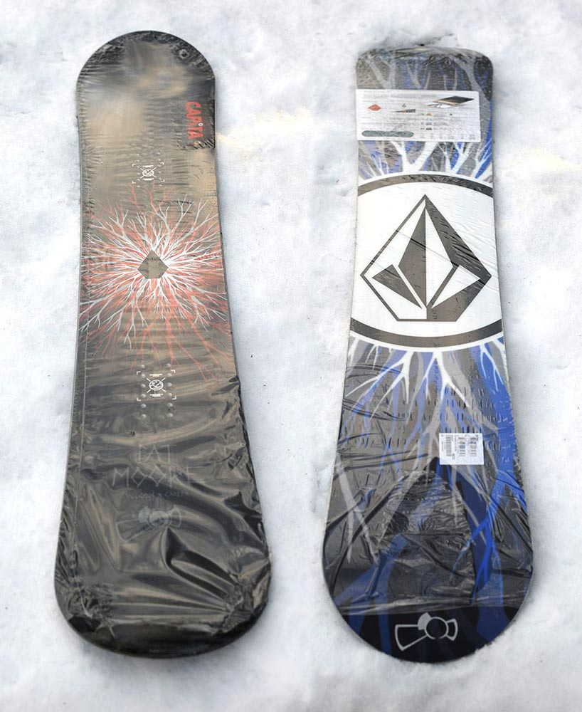 Volcom Pat Moore Snowboard Giveaway