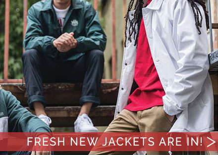 Fresh new jackets for cold weather