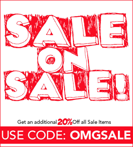 SALE on SALE: Get an Additional 20% OFF All Sale Items