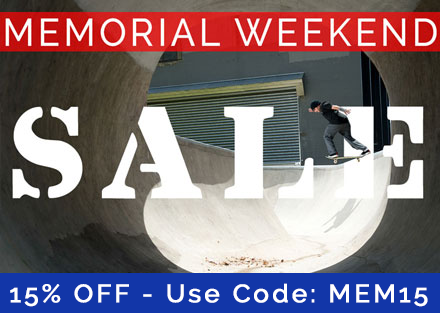 Ambush Board Co. Memorial Weekend Sale 2018 | Get an Additional 15% OFF!