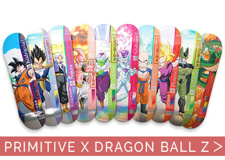 New Primitive x Dragon Ball Z collection is here!