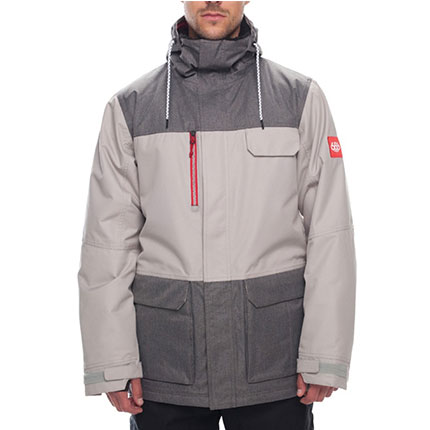 686 2019 SIXER (COORS LIGHT) MEN'S INSULATED SNOWBOARD JACKET