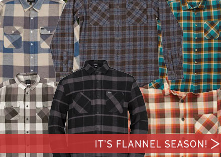 Get dialed in with new flannel button ups!
