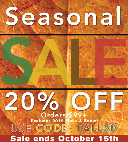 Seasonal Sale!