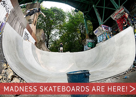 New Skateboards from MADNESS!