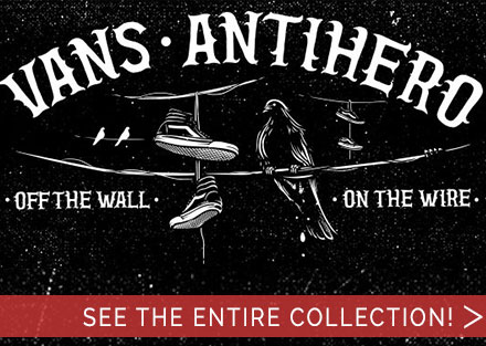 New collection from Vans x Antihero