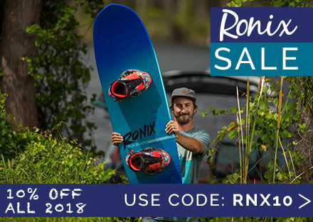 Ronix Co-Op Sale - Save 10% on Ronix