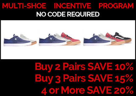 Multi Shoe Discount Program