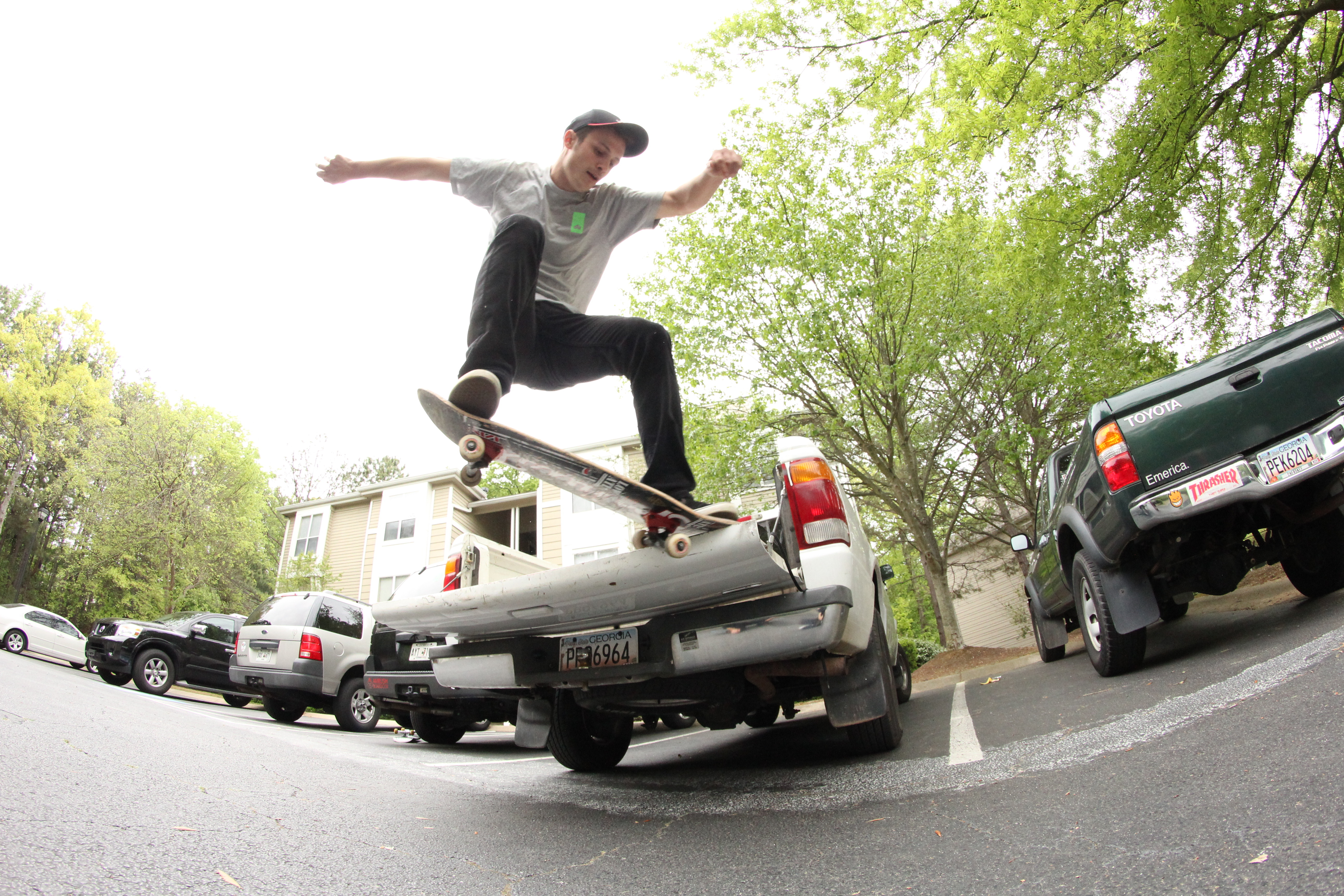 Josh Butler Crook Truck Bed