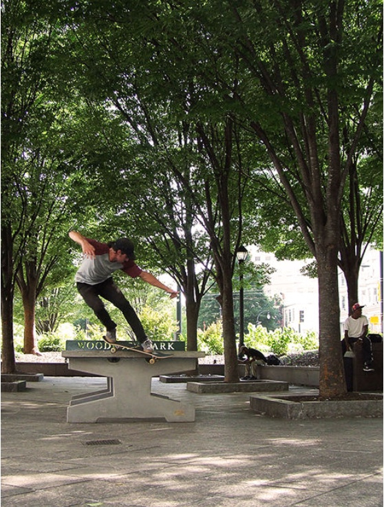 Wesley Lembo Backside Smith Grind