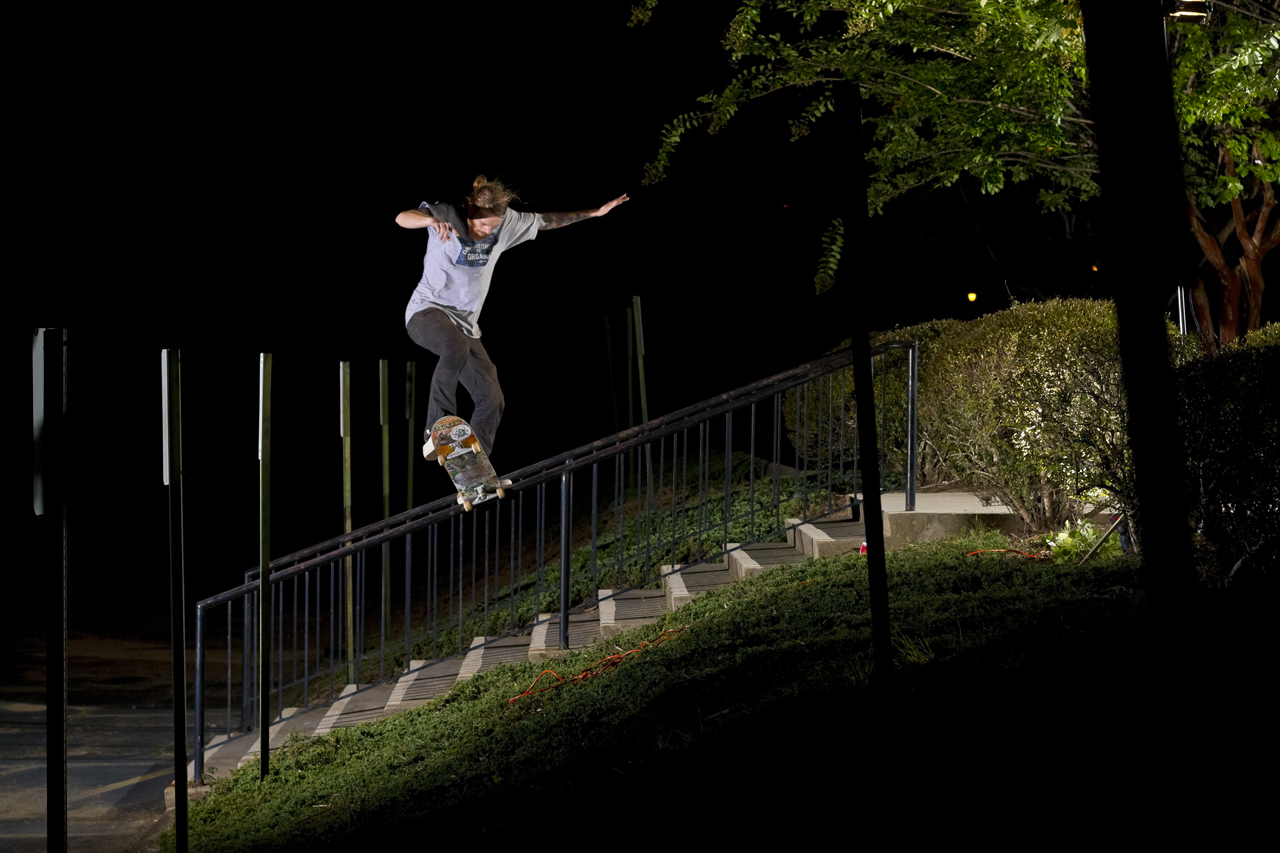 Jordan Smith Frontside Bluntslide