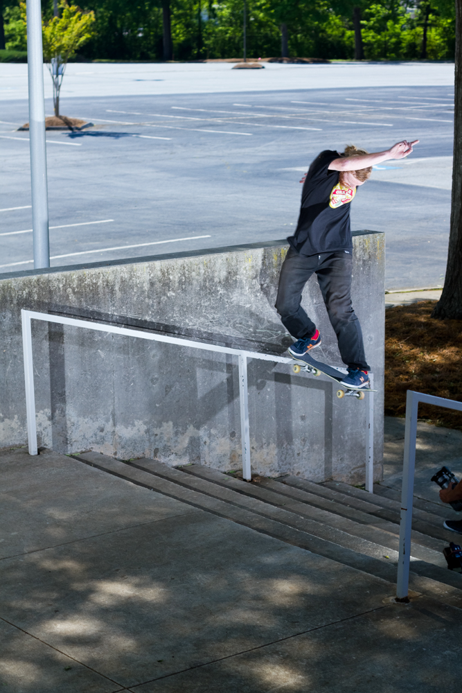 Jordan Smith Switch Backside Tailslide