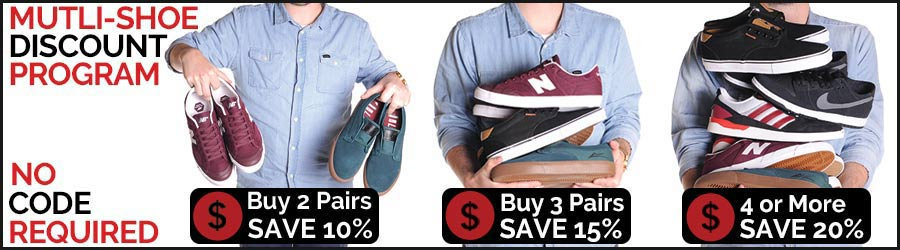 Save on Skate Shoes and Sandals at Ambush Board Co.