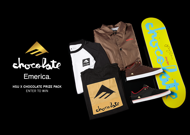 Emerica x Chocolate Hsu Giveaway