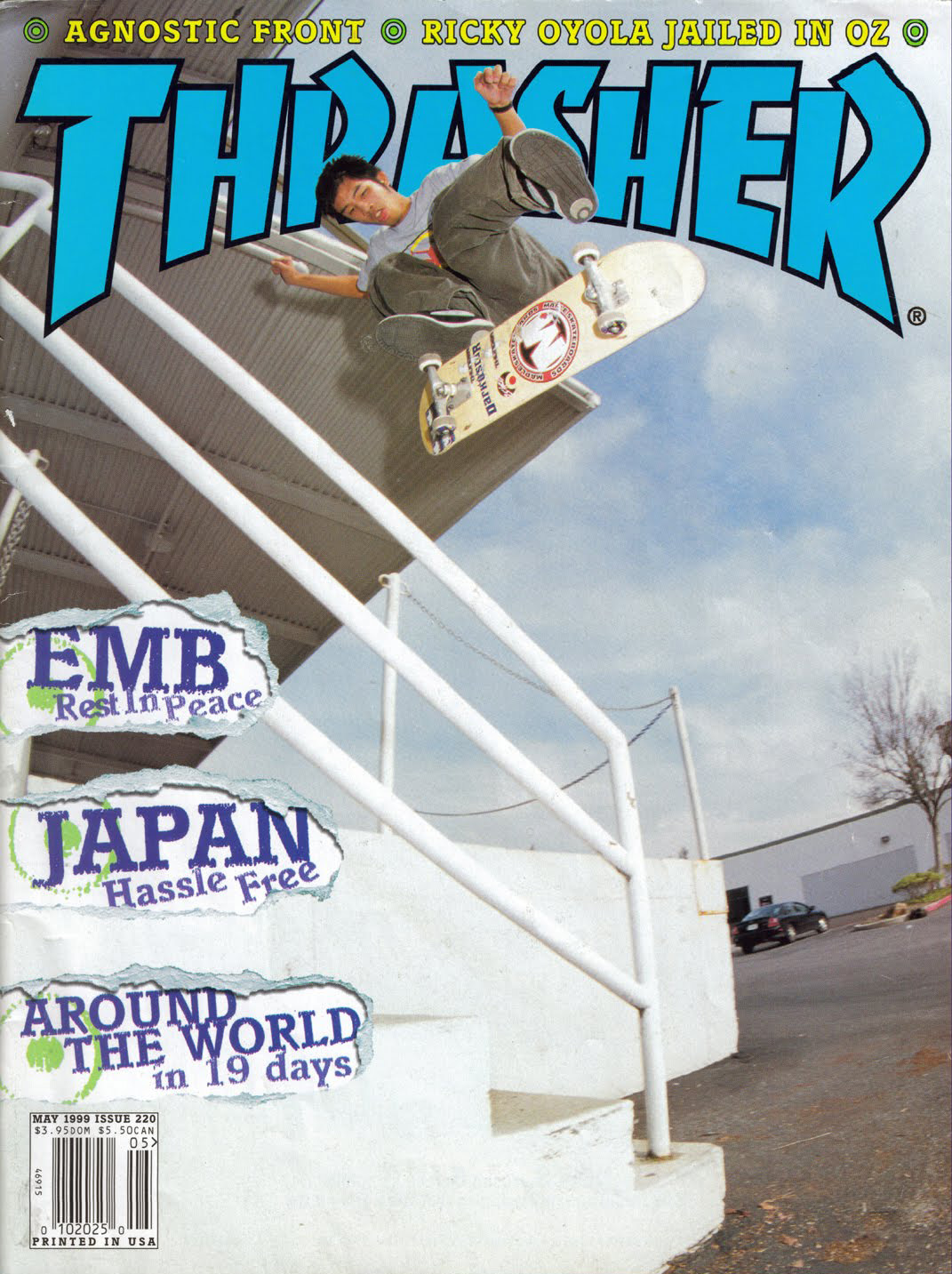 Jerry Hsu Thrasher Cover May 1999